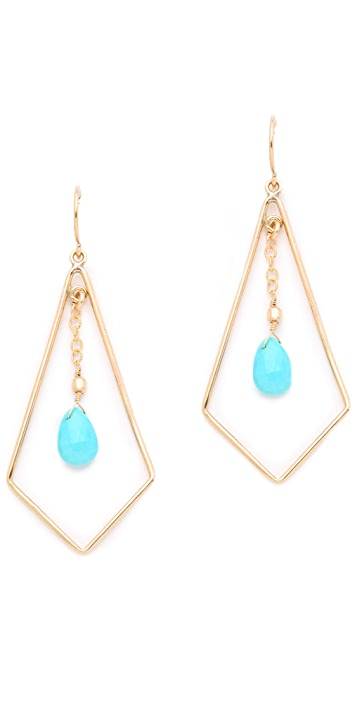 Heather Hawkins Tri Drop Earrings