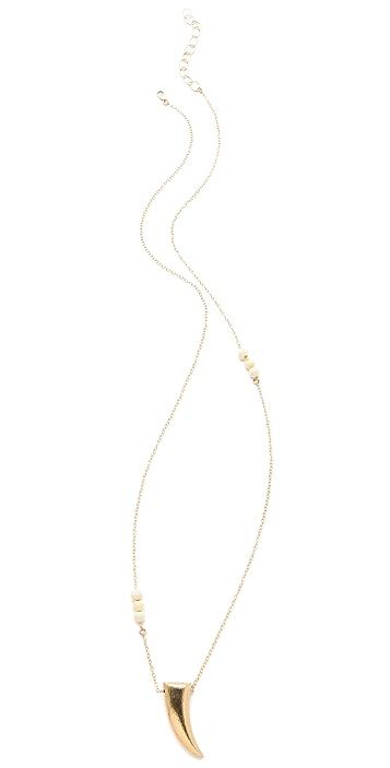 Heather Hawkins Horn Necklace