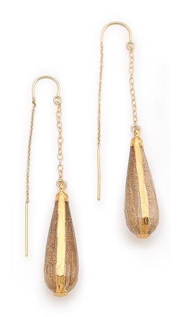 Heather Hawkins Rutilated Quartz Earrings