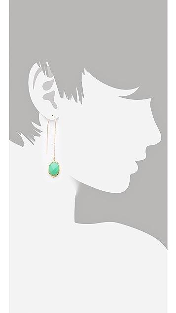 Heather Hawkins Chrysoprase Earrings
