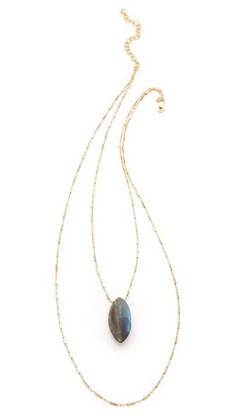Heather Hawkins Gemstone Layered Necklace