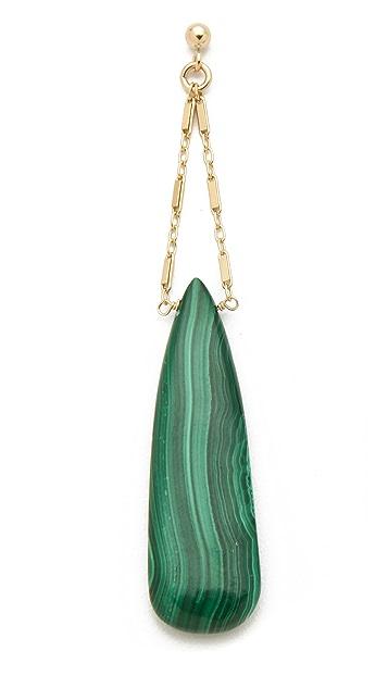 Heather Hawkins Cut Gemstone Drape Earrings