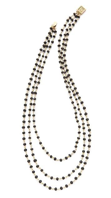Heather Hawkins Tri-Layer Short Necklace