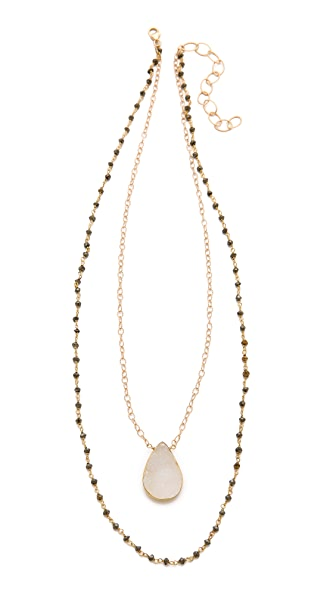 Heather Hawkins Layer Gemstone Necklace