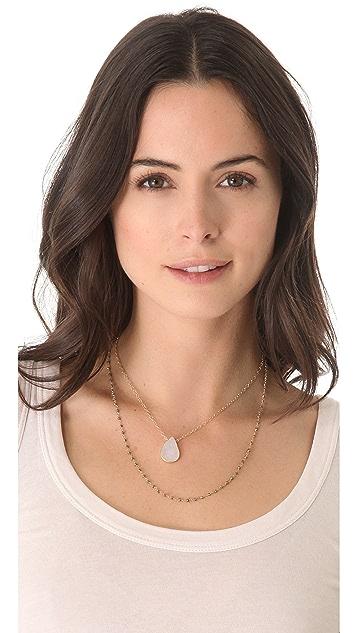 Heather Hawkins Layer Gemstone Necklace