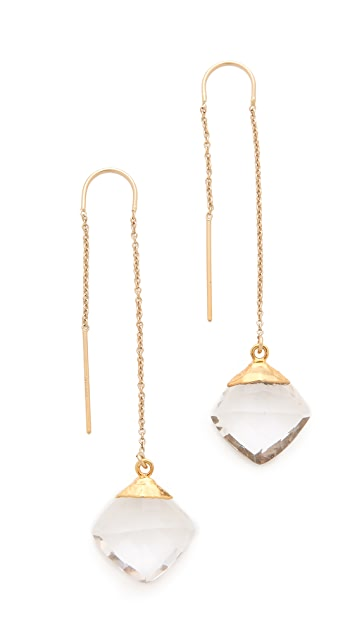 Heather Hawkins Cubism Threaded Earrings