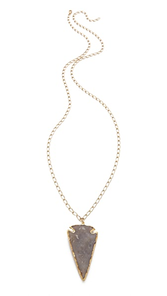 Heather Hawkins Arrowhead Chain Necklace
