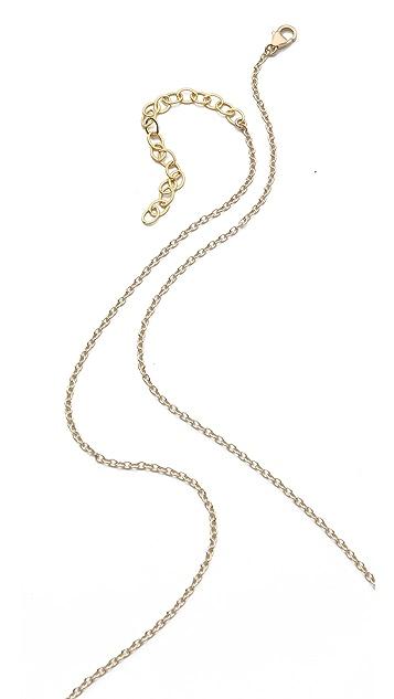 Heather Hawkins Bone Horn Goddess Necklace