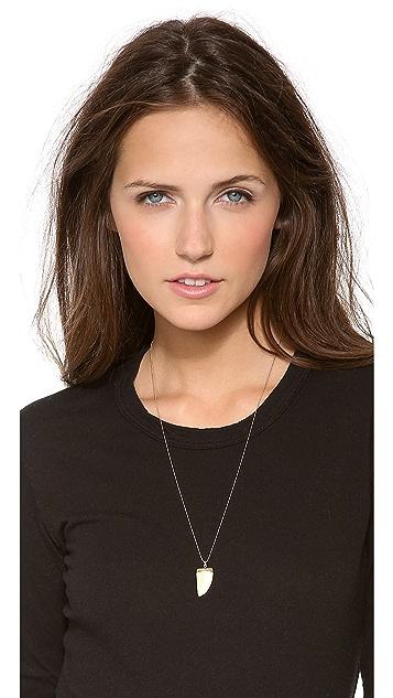 Heather Hawkins Baby Bone Horn Necklace