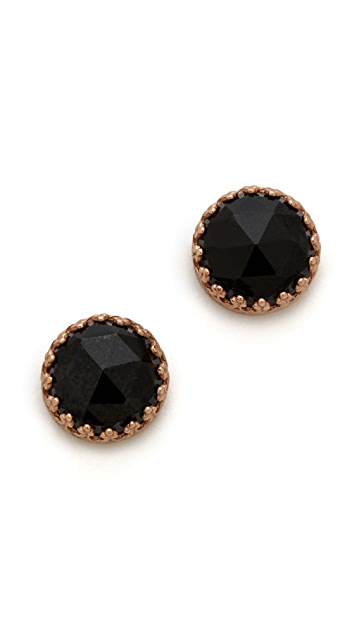 Heather Hawkins Spendor Rose Cut Earrings