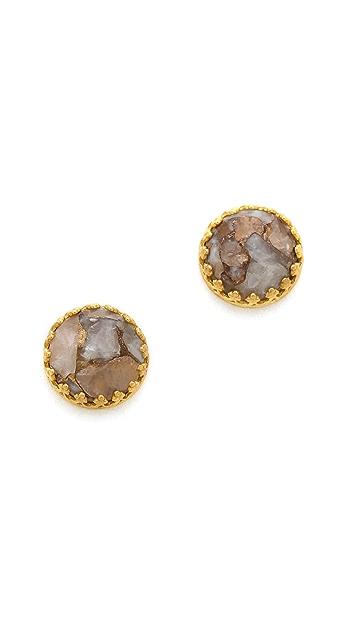 Heather Hawkins Splendor Rose Cut Earrings