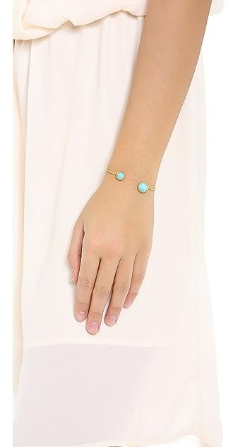 Heather Hawkins Spendlor Spike Cut Bangle Bracelet