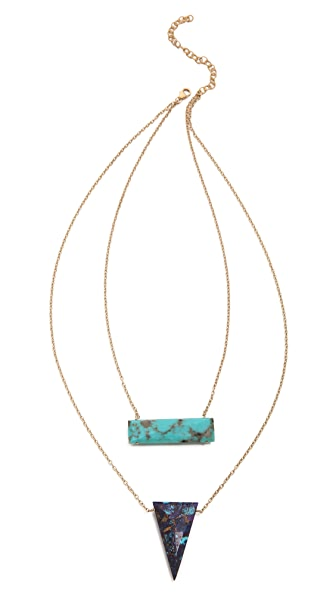 Heather Hawkins 2 Layer Trip Necklace