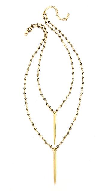 Heather Hawkins Annie Double Spike Necklace