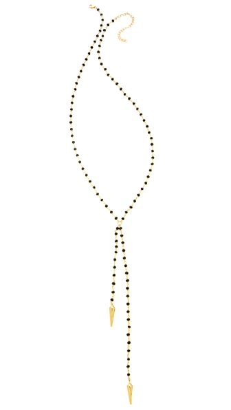 Heather Hawkins Braid Lariat Necklace
