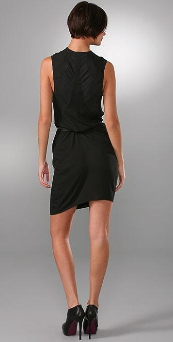 Helmut Lang Zip Belt Dress