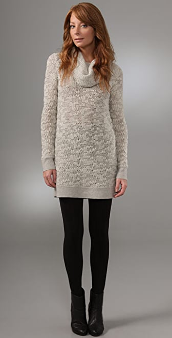 Helmut Lang Cowl Neck Sweater Dress | SHOPBOP