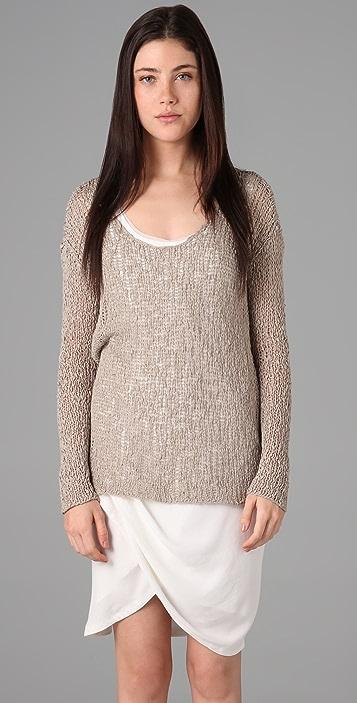 Helmut Lang Scoop Neck Sweater