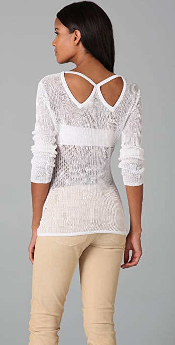 Helmut Lang Paneled Sweater