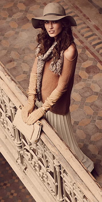 Helmut Lang Asymmetrical Cutout Sweater