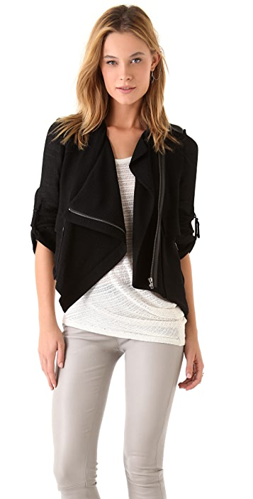 Helmut Lang Jacket with Leather Details