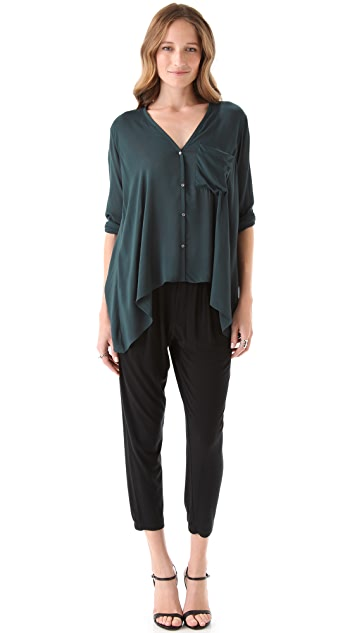 Helmut Lang Lush Voile Shirt