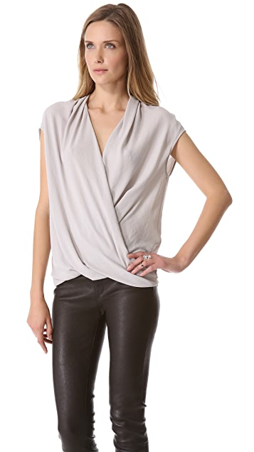 Helmut Lang Soft Twist Top