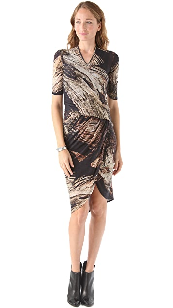 Helmut Lang Drift Print Dress