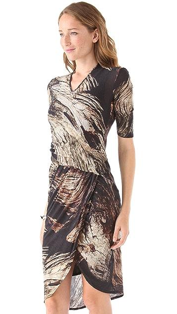 Helmut Lang Drift Print Dress