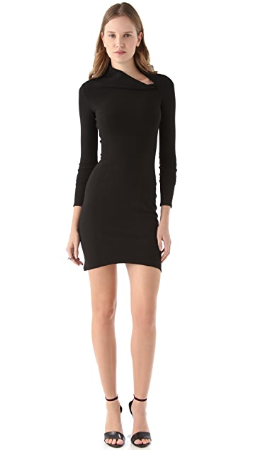 Helmut Lang Flare Dress