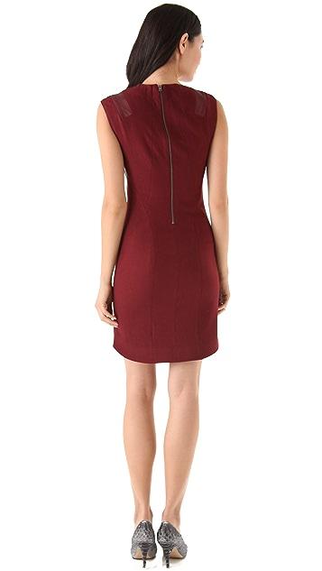 Helmut Lang Pixel Suiting Dress