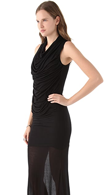 Helmut Lang Slack Jersey Maxi Dress