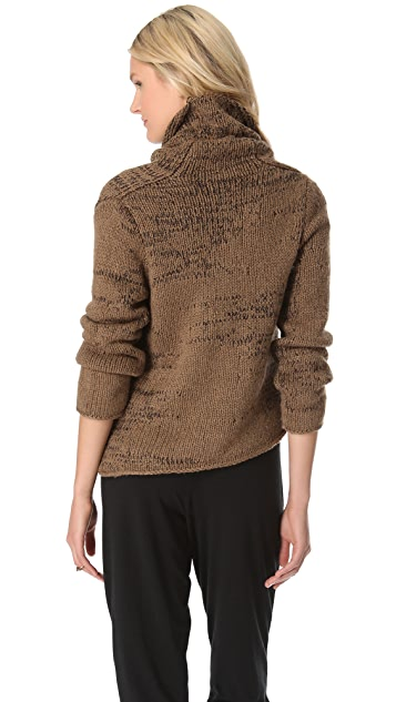 Helmut Lang Willowed Pullover Sweater