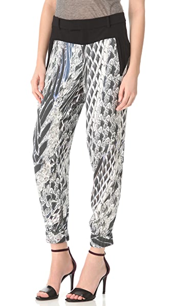 Helmut Lang Pheasant Print Method Pants