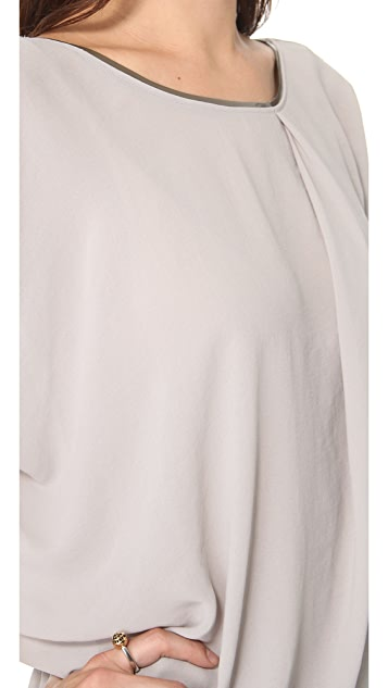 Helmut Lang Soft Shroud Drape Top
