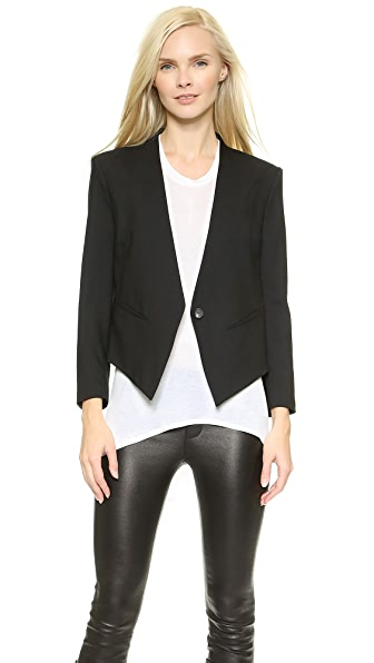 Helmut Lang Smoking Tux Blazer at Shopbop
