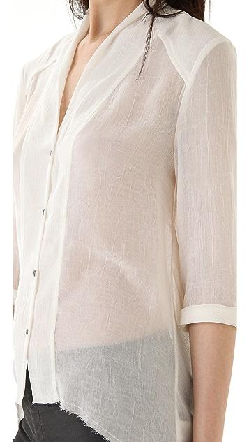 Helmut Lang Fray Shirt