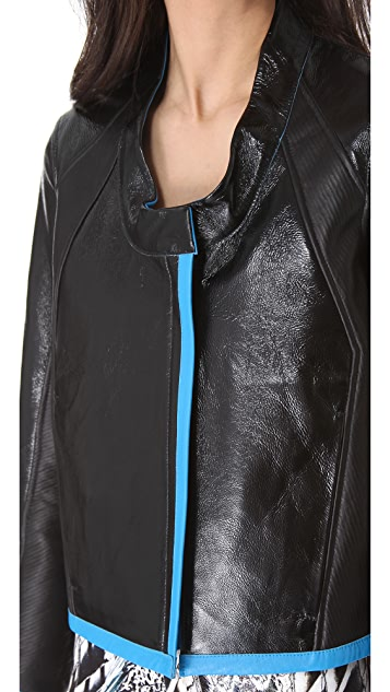Helmut Lang Dual Leather Reversible Jacket