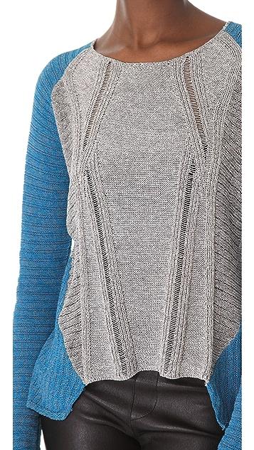 Helmut Lang Transparent Melange Pullover