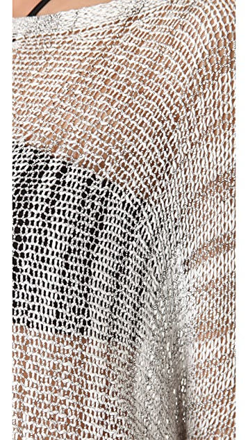 Helmut Lang Marled Viscose Pullover