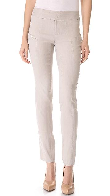 Helmut Lang Matrix Linen Pants