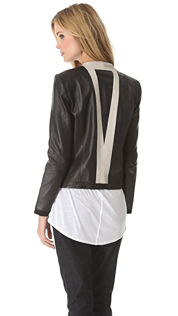 Helmut Lang Evolution Leather Jacket