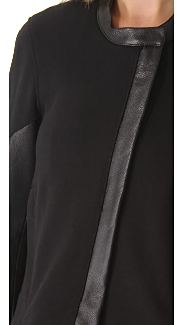 Helmut Lang Motor Terry Taper Sleeve Jacket