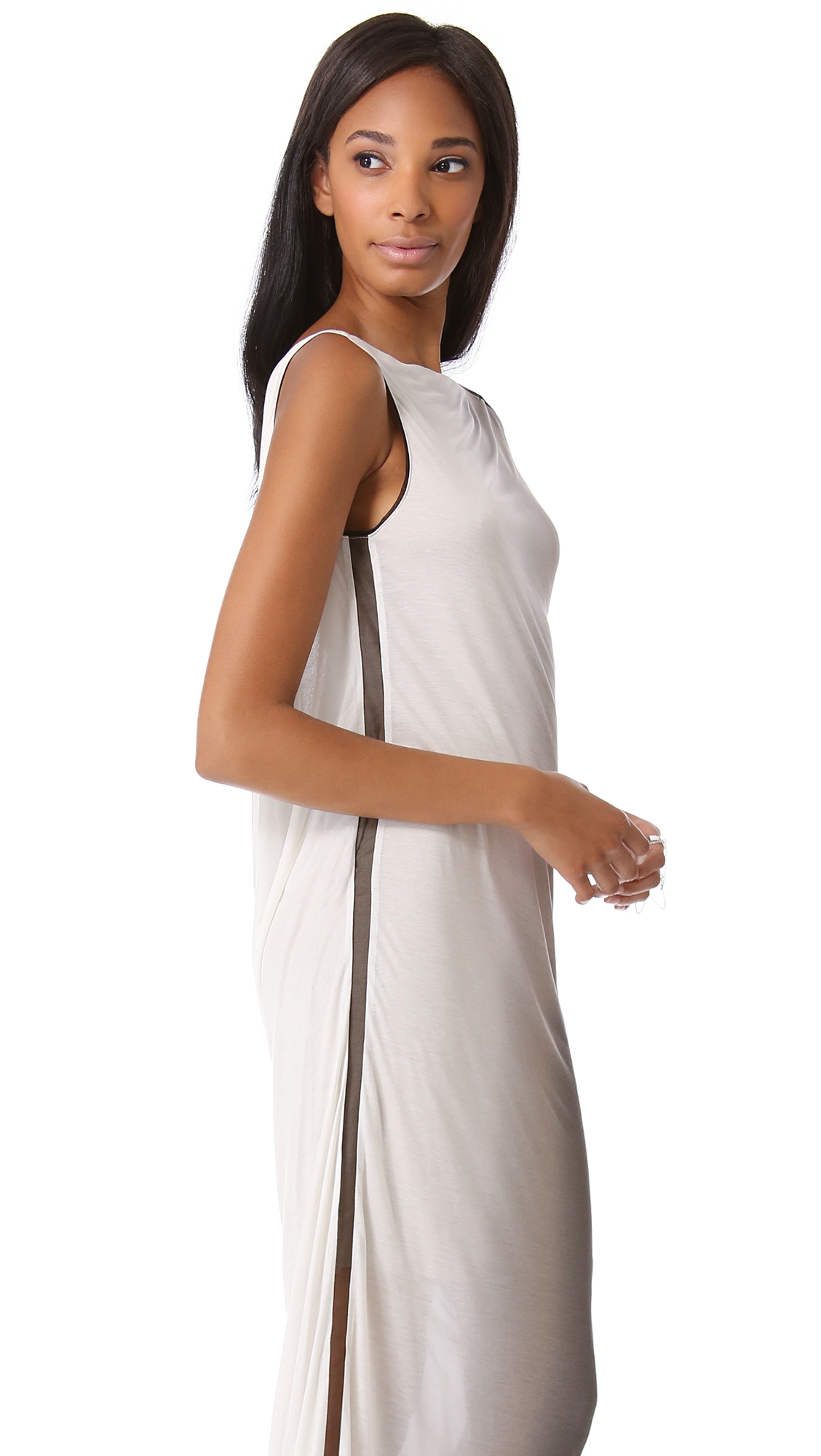 Helmut lang ombre dress