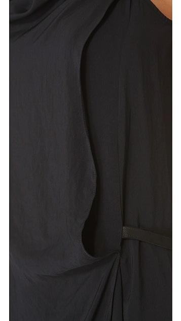 Helmut Lang Solar Drape Dress
