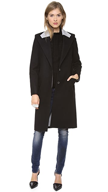 Helmut Lang Long Open Jacket