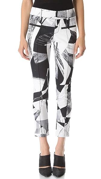 Helmut Lang Cubist Print Pants