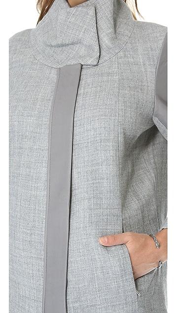 Helmut Lang Funnel Neck Coat