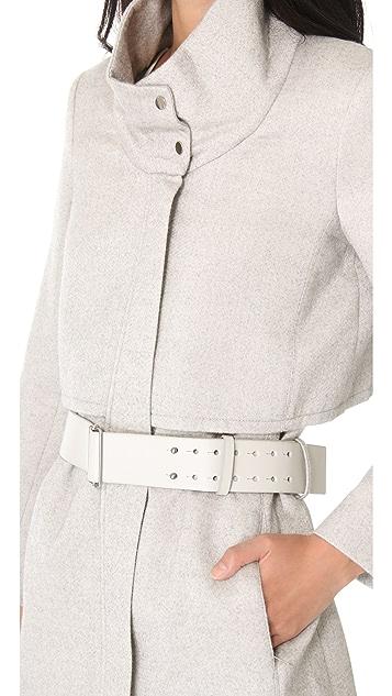Helmut Lang Belted Coat