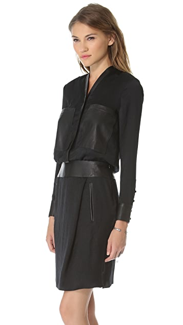 Helmut Lang Front Pocket Dress